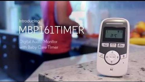 Радионяня Motorola MBP161 Timer с LCD дисплеем (12)