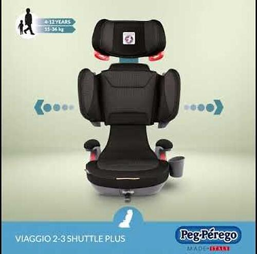 Автокресло Peg-Perego Viaggio 2-3 Shuttle Plus 500 (12)