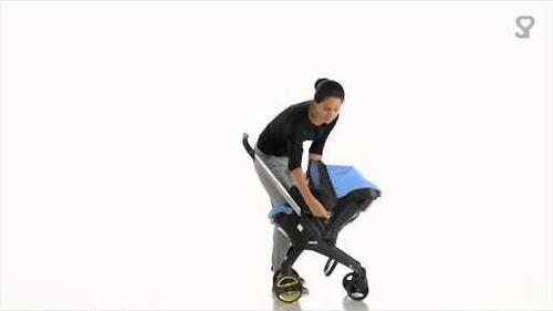 Москитная сетка SimpleParenting для коляски-автокресла Doona (8)