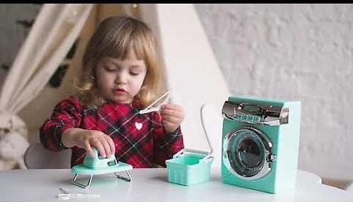 Стиральная машина Happy Baby Laundry Time Mint (10)