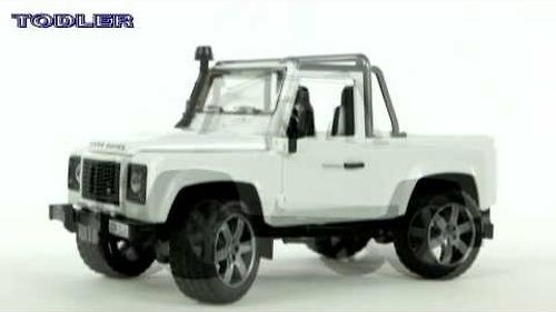 Bruder внедорожник-пикап Land Rover Defender (6)