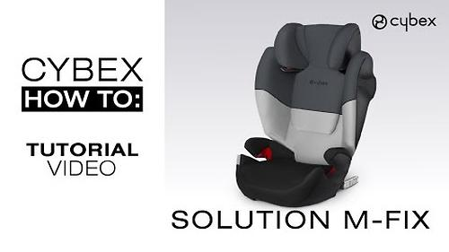 Автокресло Cybex Solution M-Fix Cobblestone (12)