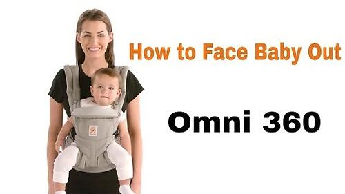 Рюкзак-кенгуру Ergobaby Omni 360 Cool Air Mesh Chambray (21)