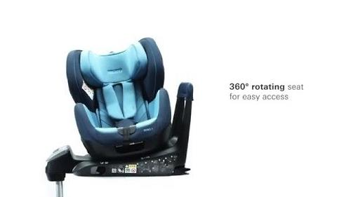 Автокресло Recaro Zero.1 I-size Racing Red (20)