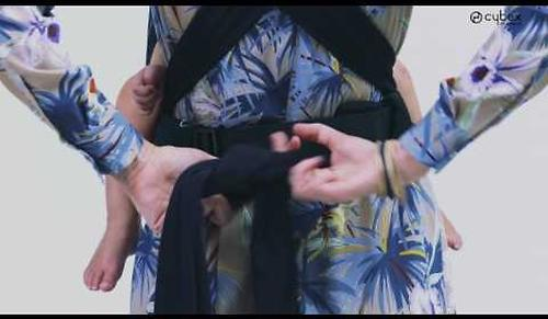 Кенгуру-переноска Yema tie JS Wings Black (18)
