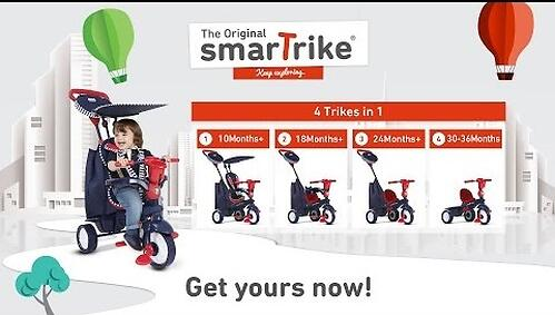Велосипед Smart Trike Shine Star (12)