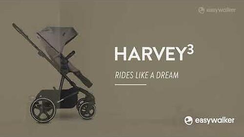 Коляска прогулочная Easywalker Harvey³ Premium Jet Black (18)