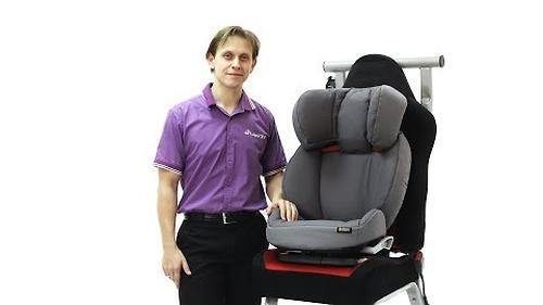 Автокресло BeSaFe Izi UP X3 Fresh Black Cab (8)