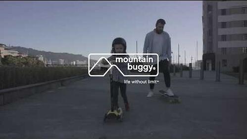 Самокат-подножка для второго ребенка 2в1 Mountain Buggy Freerider Черный (12)