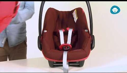 Автокресло Maxi Cosi Pebble+ Robin Red (6)