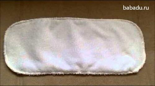 Вкладыш для подгузника Sheldon Stay dry на кнопках XS 2-6 кг (9)