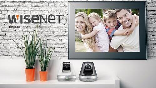 Wi-Fi Видеоняня Wisenet SmartCam SNH-V6410PNW Белая (12)