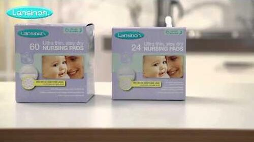 Вкладыши в бюстгалтер Lansinoh Blue Lock Disposable Nursing Pads 24 шт (6)