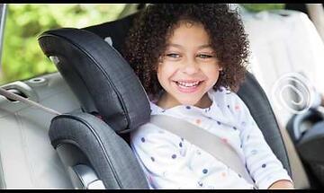 Автокресло Joie Stages ISOFIX растет вместе с ребёнком!