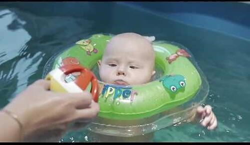 Круг на шею Roxy Kids Flipper для купания малышей 0+ (22)