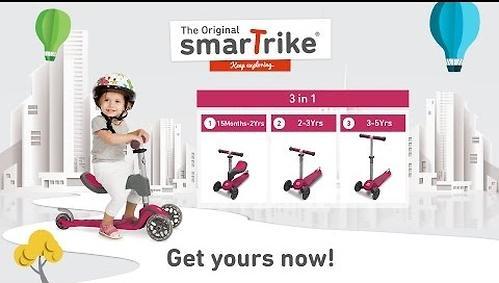 Самокат Smart Trike Scooter T1 Pink (14)