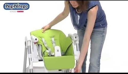 Стульчик Peg Perego Prima Pappa Follow Me Fragola (20)