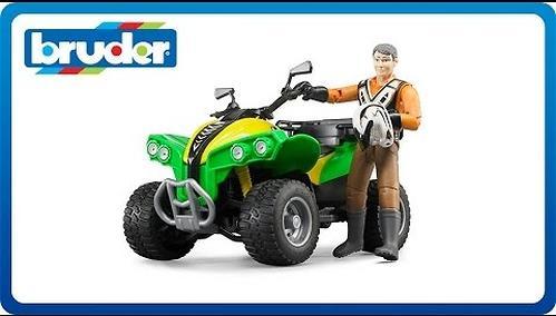 Квадроцикл Bruder с гонщиком (4)