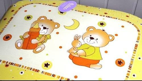 Постельное белье Perina Ника Мишка на подушке бежевый 7 предметов (8)