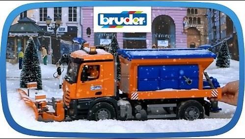 """Снегоуборочная машина MB Arocs (подходит модуль со звуком и светом """"H"""") (4)"""