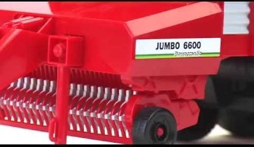 Автопогрузчик кормов Bruder Pöttinger Jumbo 6600 Profiline (8)
