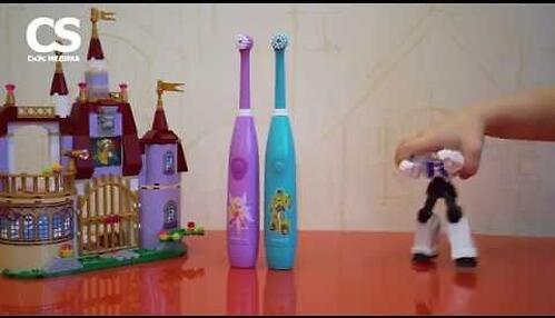 Электрическая зубная щетка CS Medica Kids CS-461-B Голубая (12)