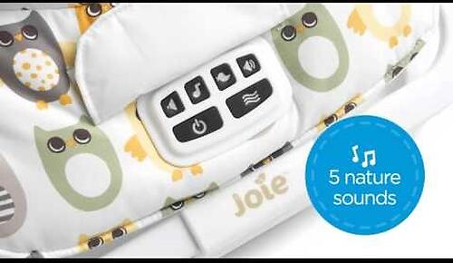 Шезлонг Joie Soother Dreamer Petite City (12)