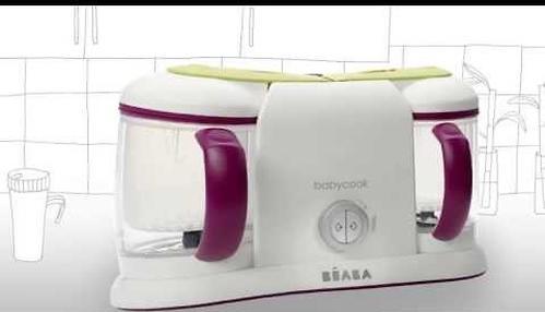 Блендер-пароварка Beaba Babycook Grey EU (11)