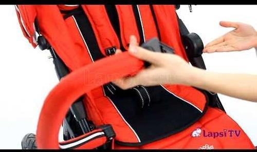 Коляска Valco baby Quad Х цвет Carmine red (10)