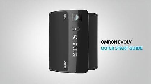Тонометр Omron EVOLV портативный с возможностью подключения к смартфону (14)