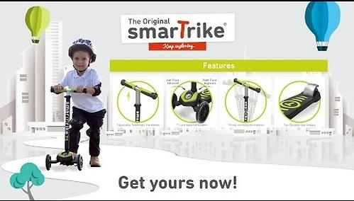 Самокат Smart Trike Scooter T5 Green (10)
