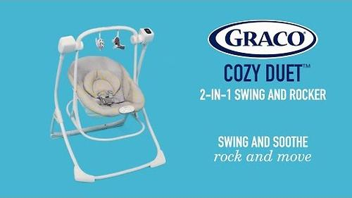 Качель Graco Cozy Duet Mini Mono (4)