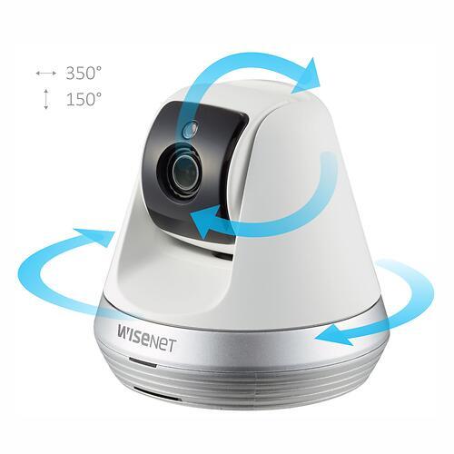 Wi-Fi Видеоняня Wisenet SmartCam SNH-V6410PNW Белая (9)