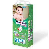Подгузники-трусики YokoSun Econom XL 38шт 12-20 кг